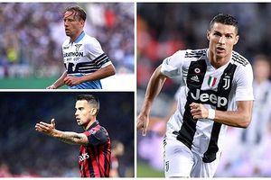 10 cầu thủ xuất sắc nhất sau 10 vòng Serie A: Ronaldo không phải số 1