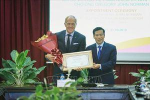 Huyền thoại golf Greg Norman được bổ nhiệm Đại sứ du lịch Việt Nam