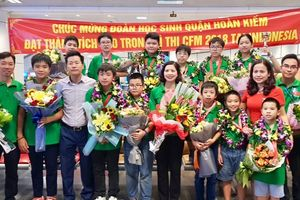 Học sinh Hà Nội giành 7 Huy chương vàng về toán học