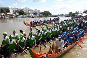 Lễ hội Ok Om Bok tỉnh Trà Vinh năm 2018