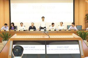 Hà Nội xem xét kết quả thực hiện đề án hạn chế phương tiện giao thông cá nhân