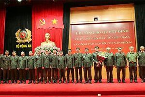 Xây dựng Đảng bộ Văn phòng Bộ Công an thực sự trong sạch, vững mạnh