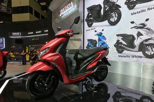 Xe tay ga Yamaha FreeGo 125 ra mắt tại Indonesia