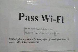 Những đề toán hack não thách đố người muốn dùng Wi-Fi 'chùa'