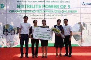 Chiến dịch Nutrilite Power of 5 giúp trẻ em phát triển khỏe mạnh tại Thanh Hóa