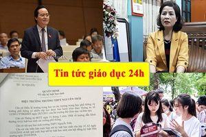 Tin tức giáo dục 24h: Bộ trưởng GDĐT chính thức lên tiếng về việc 'học sinh viết, vẽ vào sách giáo khoa'