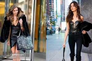 Thiên thần Victoria's Secret đi thử đồ cũng sành điệu