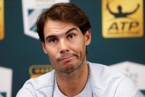 Rút lui khỏi Paris Masters, Nadal mất ngôi vị số một thế giới