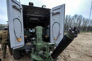 Ukraine thử nghiệm tổ hợp cối di động Bars-8MMK mới