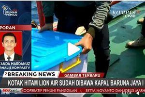 Indonesia trục vớt được hộp đen máy bay Lion Air