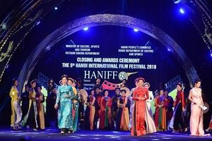 Bế mạc LHP Quốc tế Hà Nội 2018: Khẳng định uy tín của điện ảnh Việt Nam