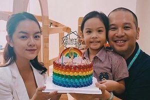 Phạm Quỳnh Anh và Quang Huy 'tái ngộ' sau ly hôn, mừng sinh nhật con gái