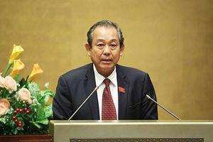 Phó Thủ tướng: Sẽ cụ thể hóa vấn đề từ chức