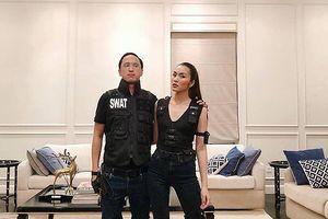 Vợ chồng Hà Tăng 'biến hóa' bất ngờ dịp Halloween