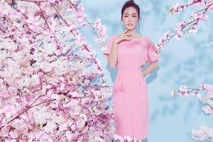Người đẹp khả ái Hồng Tuyết đẹp mơ màng với gam màu pastel
