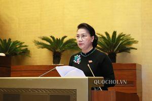 'Quốc hội ghi nhận sự cầu thị của các thành viên Chính phủ trong trả lời chất vấn'