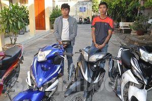 Hải Dương: Nhóm đối tượng chuyên trộm cắp xe máy sa lưới