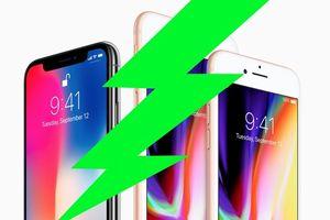Lo máy bị lỗi khởi động, Apple làm chậm iPhone 8 và iPhone X