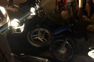 Đồng Nai: Xế hộp gây tai nạn liên hoàn, tông hàng loạt xe máy dừng đèn đỏ