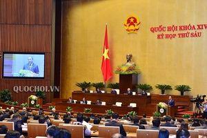 Chất vấn và trả lời chất vấn kỳ họp thứ 6, Quốc hội khóa XIV ngày 1.11
