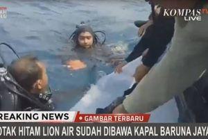 Đã tìm thấy hộp đen của máy bay Lion Air bị rơi ở Indonesia