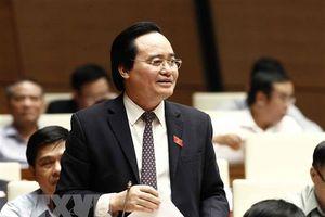 Bộ trưởng Phùng Xuân Nhạ nhận trách nhiệm về lãng phí SGK