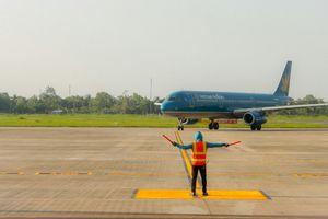 Đón chuyến bay thẳng đầu tiên từ Tokyo đến Cần Thơ