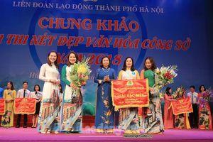 Chung khảo Hội thi Nét đẹp văn hóa công sở năm 2018 trong CNVCLĐ Thủ đô