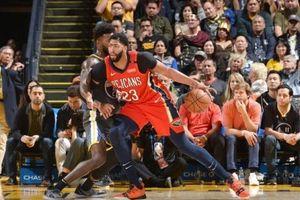 'Mọc thêm đôi cánh' Anthony Davis, Pelicans vẫn không thể nào vượt qua Warriors