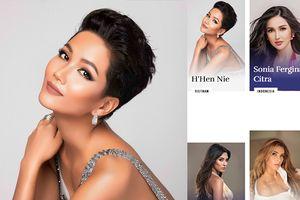 Fan vỡ òa khi H'hen Niê xuất hiện 'chễm chệ' trên trang chủ Miss Universe