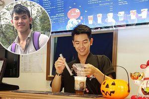 Nhanh như gió, dân mạng đã tìm ra info hot boy tiệm trà sữa ở Hà Nội 'đốn tim' dân mạng những ngày qua
