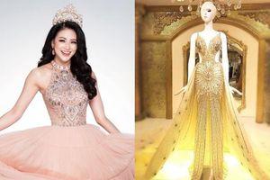 Fan Việt tranh cãi 'dữ dội' về đầm dạ hội của Phương Khánh diện trong đêm Chung kết Miss Earth 2018 sắp tới