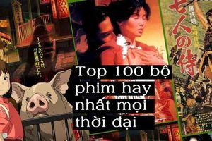 Top 100 bộ phim nước ngoài hay nhất mọi thời đại, Hàn Quốc lép vế hoàn toàn trước Trung Quốc và Nhật Bản