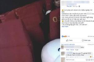Bị chị gái mặt mũi xinh đẹp liên tục đạp vào ghế ở rạp chiếu phim, cô gái đành đi ra ngoài vì thấy 'xem phim không còn hay nữa'
