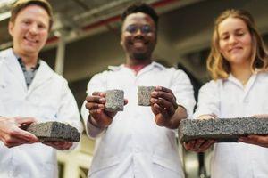 Kinh ngạc gạch được làm từ chính nước tiểu của con người