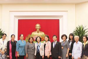 Trưởng Ban Dân vận Trung ương Trương Thị Mai tiếp Đoàn đại biểu Hội LHPN Cuba
