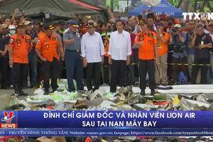 Đình chỉ giám đốc và nhân viên Lion Air sau tai nạn máy ba