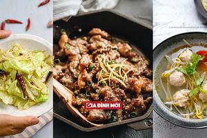 Thực đơn cơm tối nấu nhanh ngon lành lại đủ chất cho cả nhà