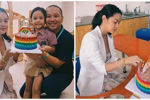Sau ly hôn Phạm Quỳnh Anh tái hợp chồng cũ tổ chức sinh nhật cho con gái