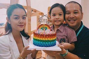 Phạm Quỳnh Anh - Quang Huy 'tái hợp' tổ chức sinh nhật cho con gái
