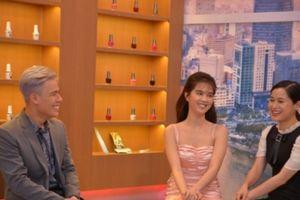 Ngọc Trinh gây ấn tượng khi trở lại truyền hình với chương trình 'Hàng Ghế Đầu'