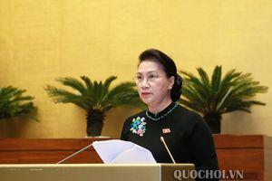 Chủ tịch Quốc hội: Bỏ trần lãi suất tiền gửi khi đủ điều kiện