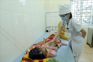 Bệnh sởi diễn biến phức tạp tại Điện Biên