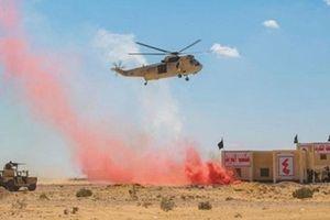 Tập trận toàn thể 'Lá chắn Arab' lần đầu tiên tại Ai Cập