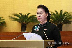 Chủ tịch Quốc hội: Nỗ lực đạt mục tiêu, tạo đà cho đất nước phát triển