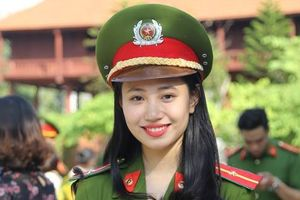 Nam thanh, nữ tú của Học viện Cảnh sát Nhân dân rạng ngời trong lễ bế giảng