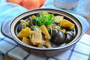 Không chỉ là món ăn vặt khoái khẩu, ốc nhồi còn có thể làm thuốc chữa bệnh, vào mùa thu càng nên dùng