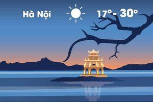 Thời tiết ngày 2/11: Hà Nội lạnh 17 độ C lúc sáng sớm và đêm
