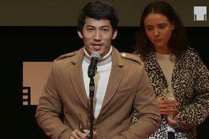 Liên Bỉnh Phát đoạt giải diễn viên mới xuất sắc tại LHP Tokyo 2018