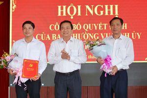 Nhân sự mới Bắc Giang, Thái Nguyên, Long An, Bến Tre